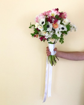 Spring Time Wedding Bouquet