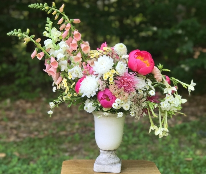Centerpiece - hand harvested by me!